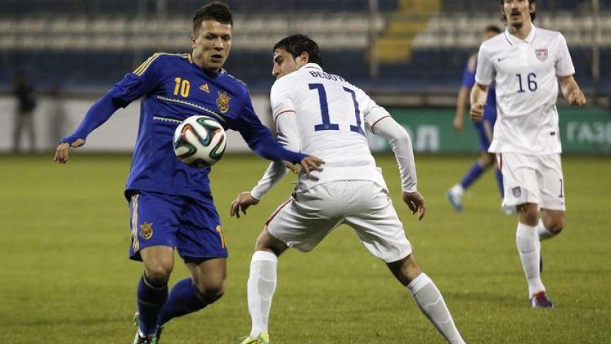 Ukraine soccer