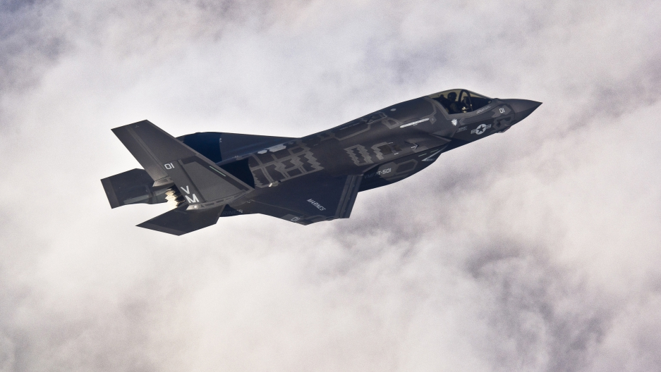 Lockheed Martin F-35B Lightning II joint strike fighter