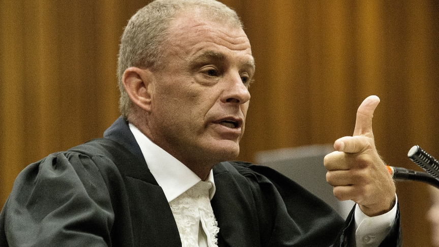 South African athlete Oscar Pistorius faced a second round of tough cross-examination by state prosecutor Gerrie Nel.