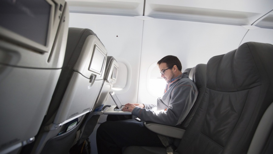 Laptops and other devices larger than cellphones are banned for direct US- and UK-bound flights from certain airports.