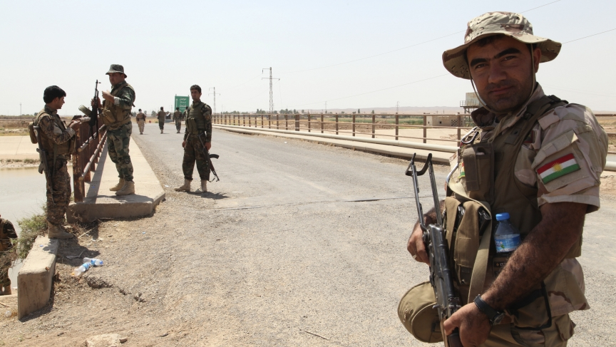 Members of the Kurdish security forces occupied Kirkuk province last week, after Iraqi government forces fled.