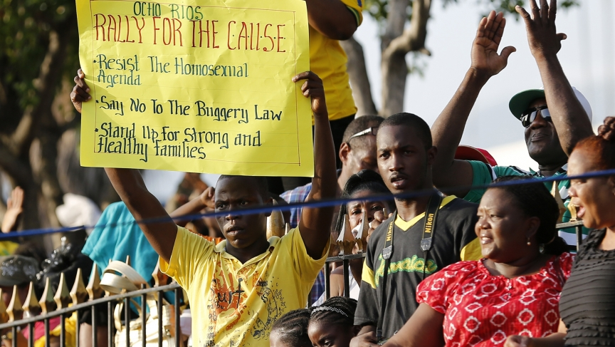 Jamaicans view on homosexuality