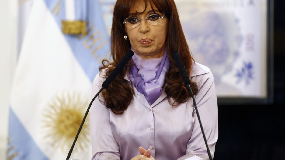 Argentina's  former president Cristina Fernandez de Kirchner has lost her verified Twitter status, but not her prolific style.