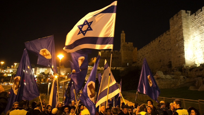 Israeli right-wing activists rallied on Thursday for Jewish prayer rights at the holiest site in Jerusalem, the compound known to Muslims as Noble Sanctuary and to Jews as Temple Mount.