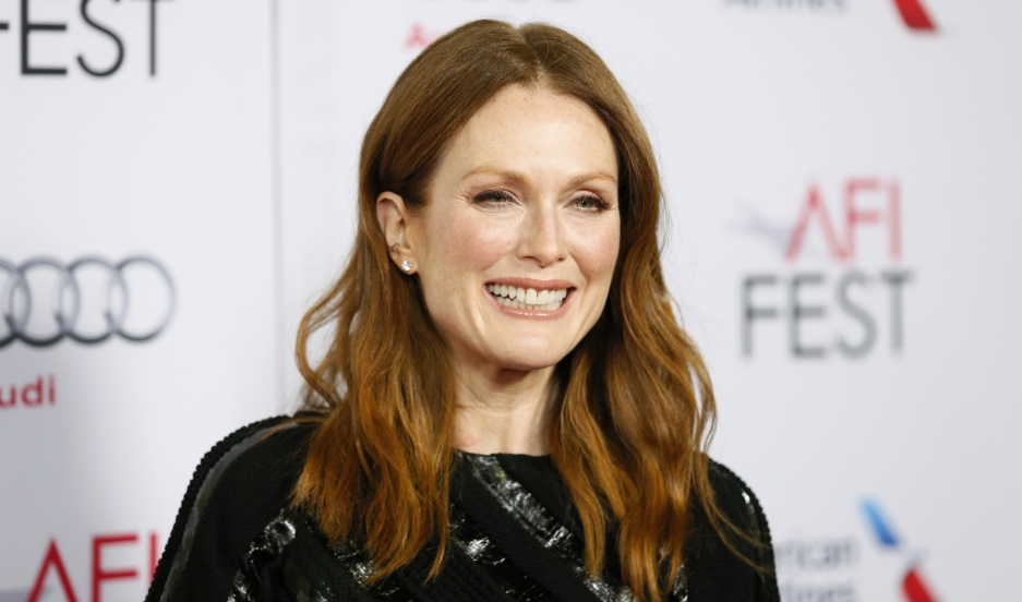 "Cast member Julianne Moore poses at a special screening of the film ""Still Alice"" during AFI Fest 2014 in Hollywood on November 12, 2014."