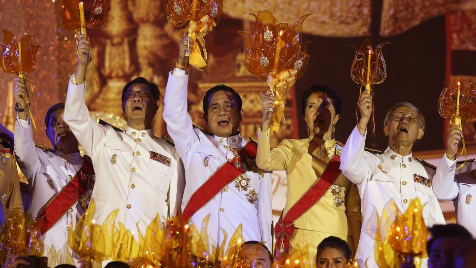 Prayuth Chan-ocha ceremony