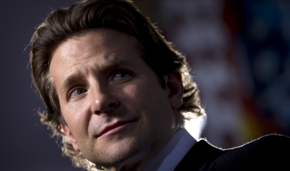 """Actor Bradley Cooper arrives for the premiere of the film """"American Sniper"""" in New York on December 15, 2014."""