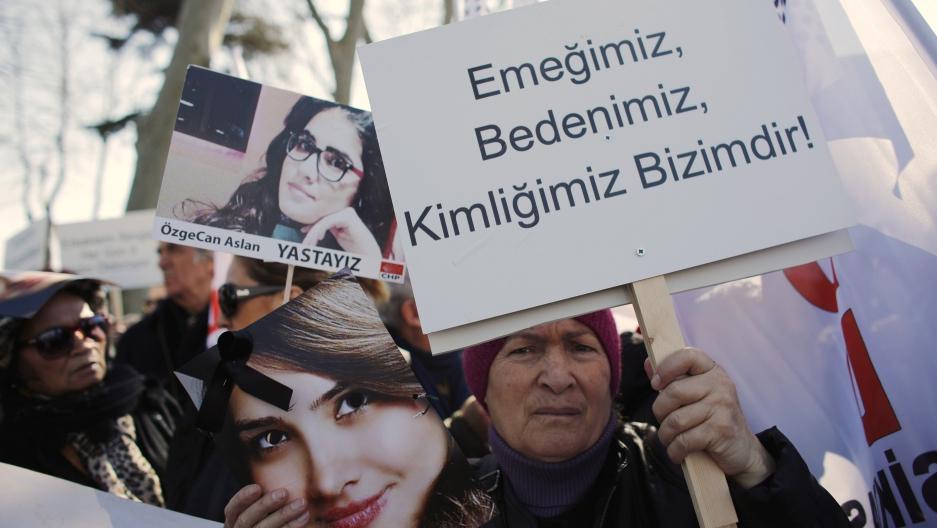 Turkey: Women's protest