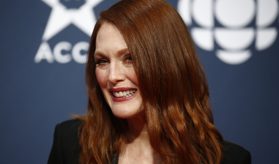"""Actress Julianne Moore arrives at the 2015 Canadian Screen Awards in Toronto on March 1, 2015. Her portrayal of Alzheimer's in the film """"Still Alice"""" helped spotlight the effects of the disease on women."""