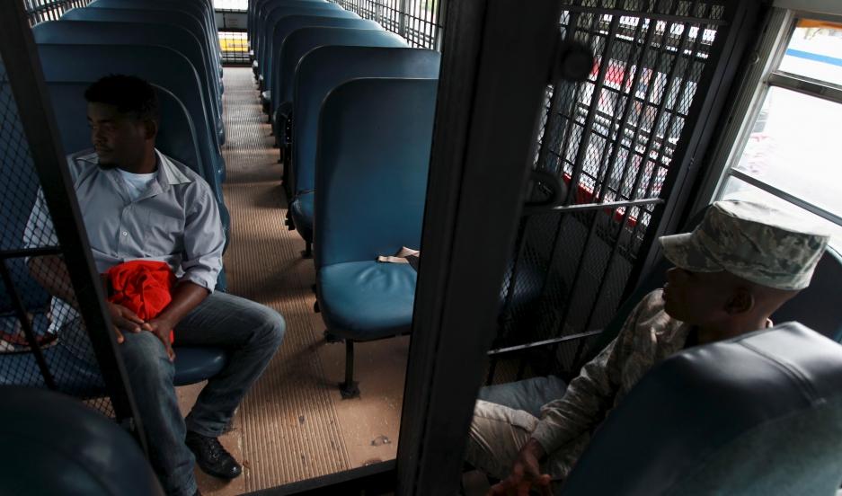 A Haitian immigrant to the Dominican Republic returns to Haiti