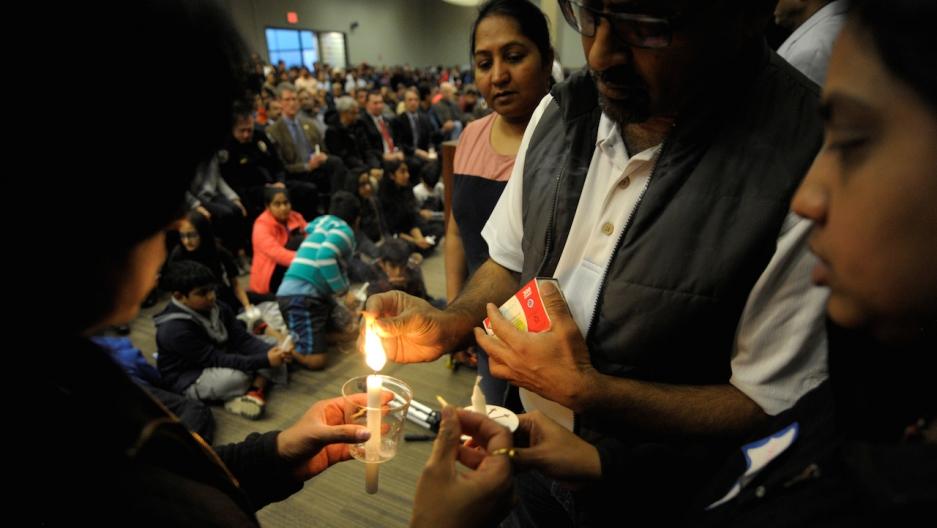 Srinivas Kuchibhotla vigil