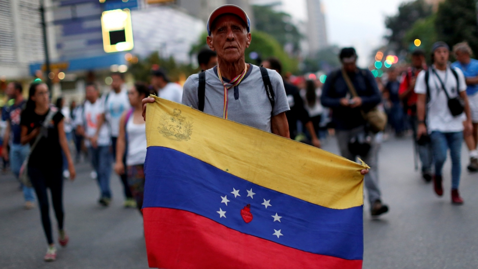 Venezuela protests vigil