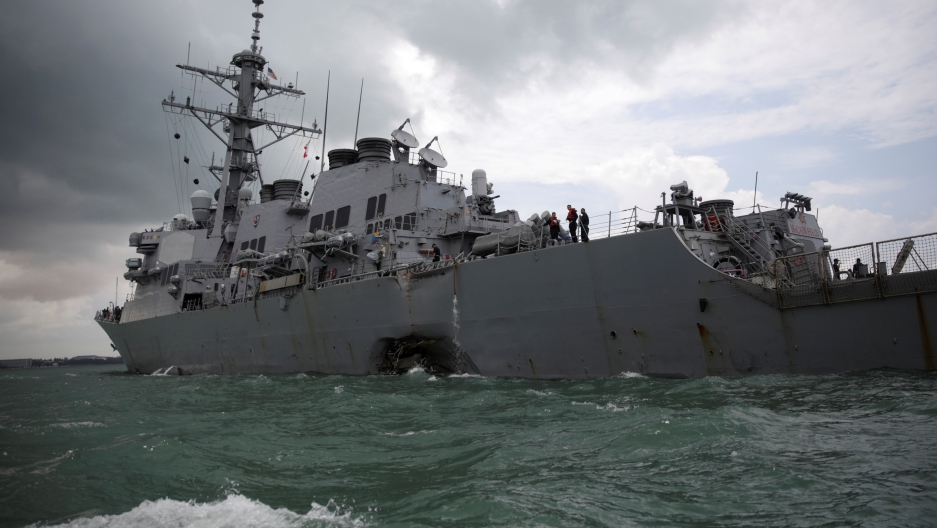 Ohio man among missing USS John S. McCain sailors