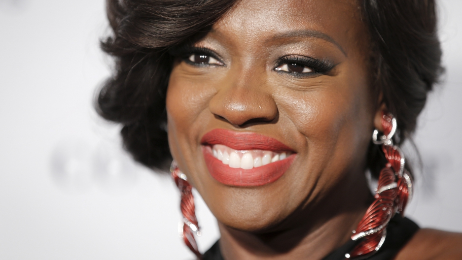"Actress Viola Davis arrives for the ""Glamour Women of the Year Awards"" in the Manhattan."