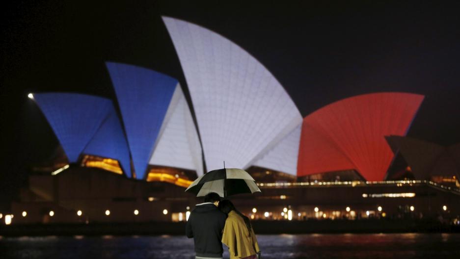 Paris Attacks: Sydney's Opera House