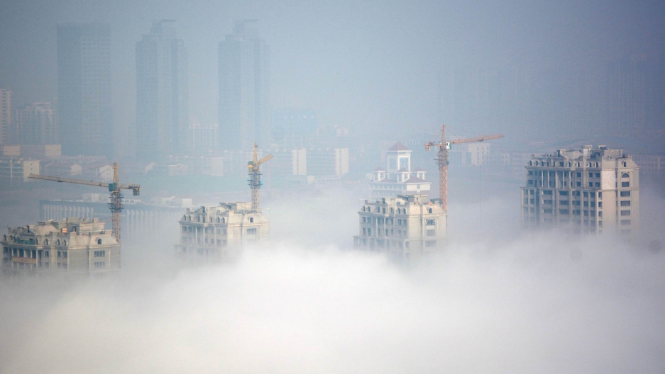 Haze in China symbolizes air pollution issues