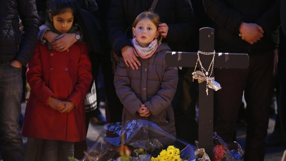 Belgians gather at vigil after latest terror attack