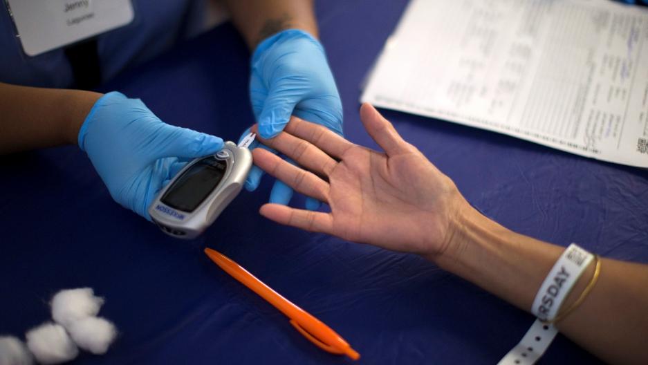 Diabetes test