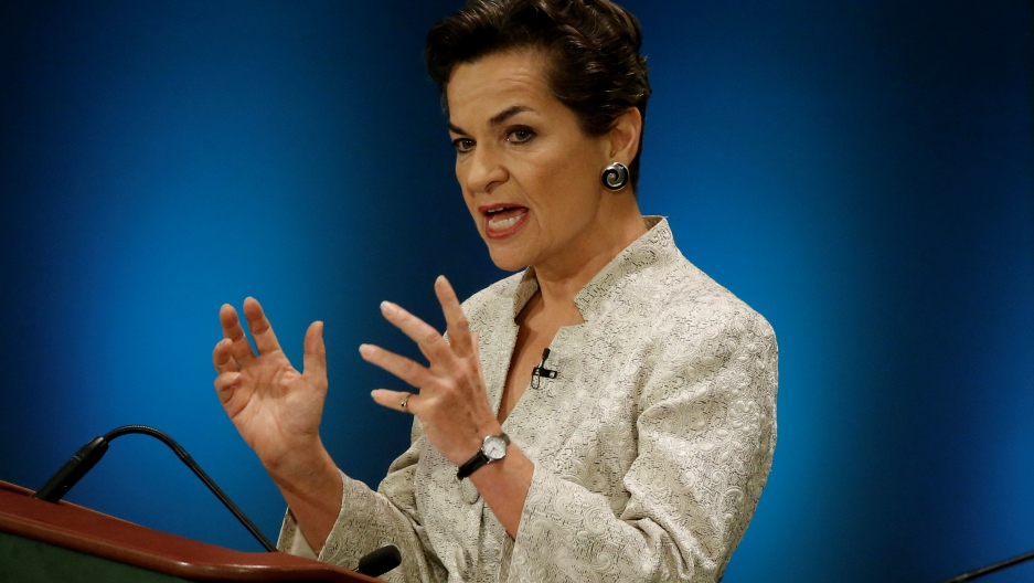 Christiana Figueres at the UN