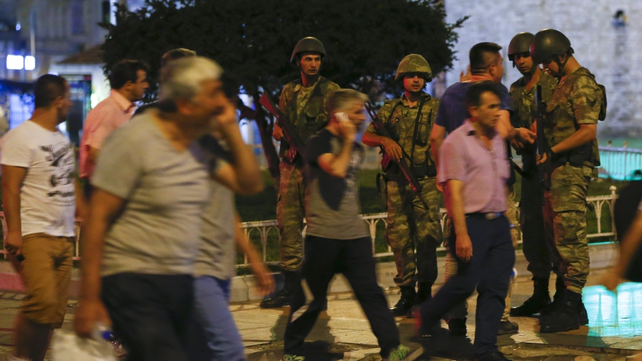 Turkey coup young people