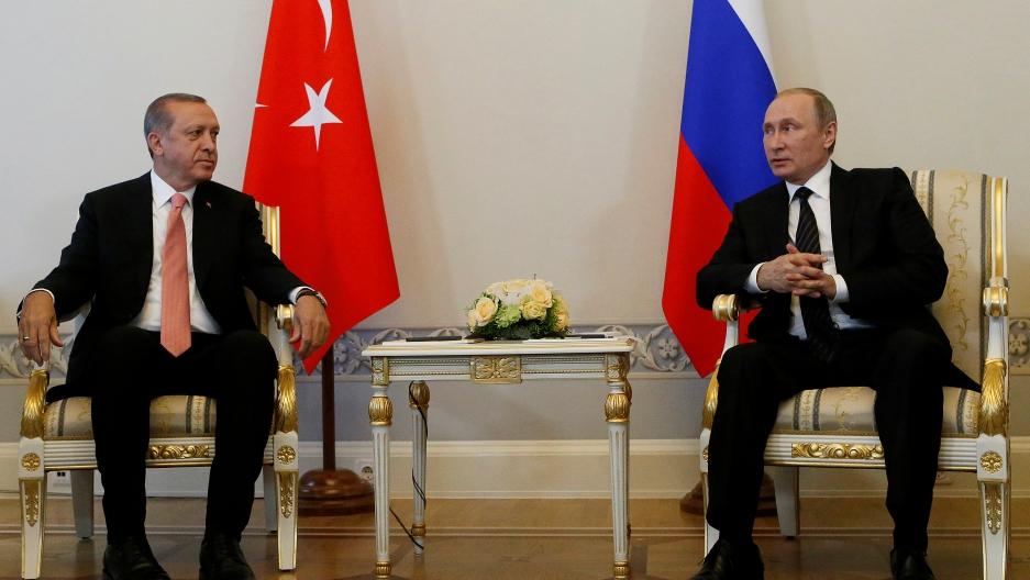 Russian newspapers cover Erdogan-Putin talks