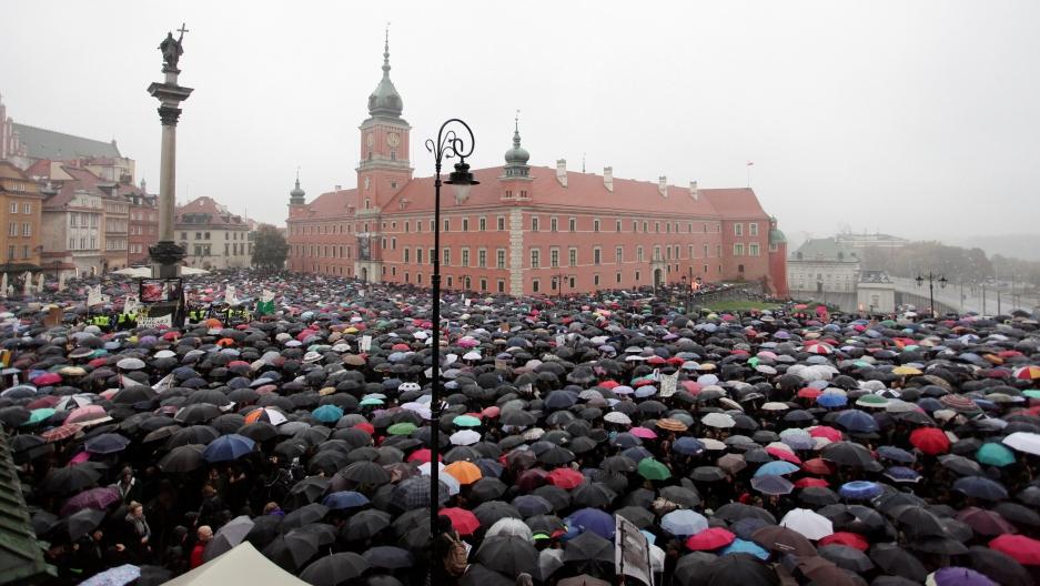 Αποτέλεσμα εικόνας για DEMONSTRATIONS IN WARSAW