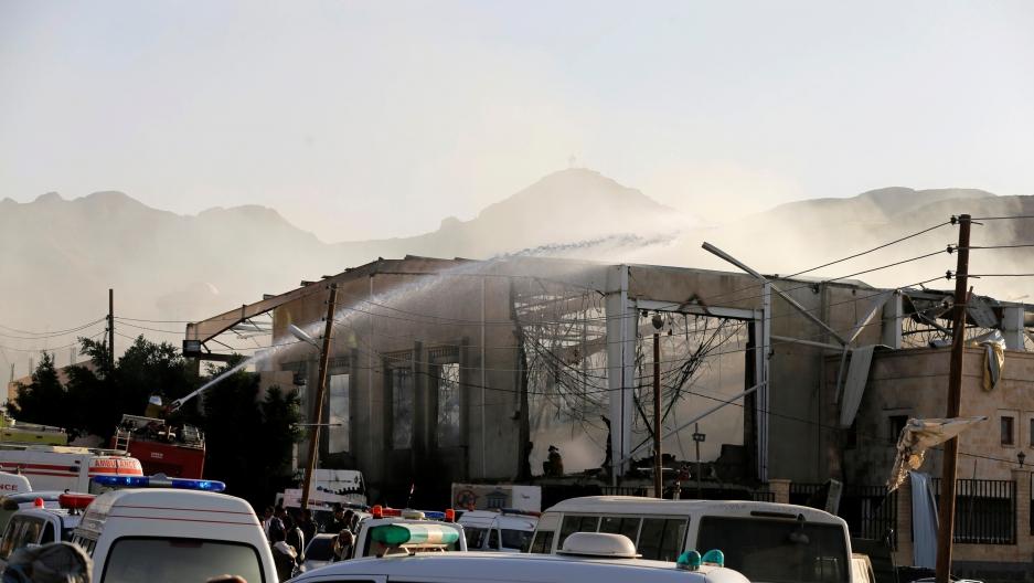Attack on funeral in Yemen