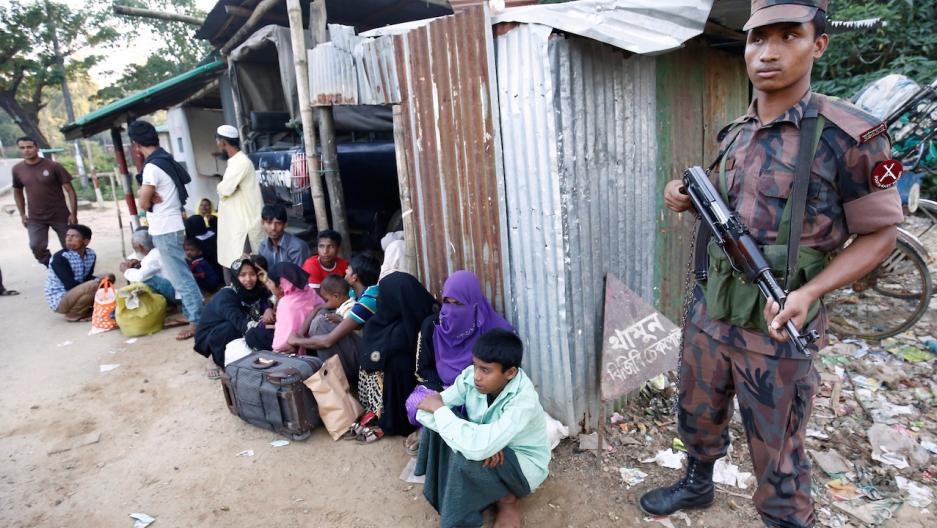 Rohingya 'human fleas'