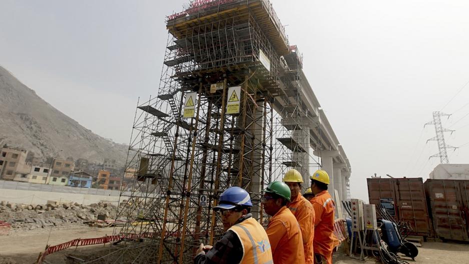 Lima Peru construction
