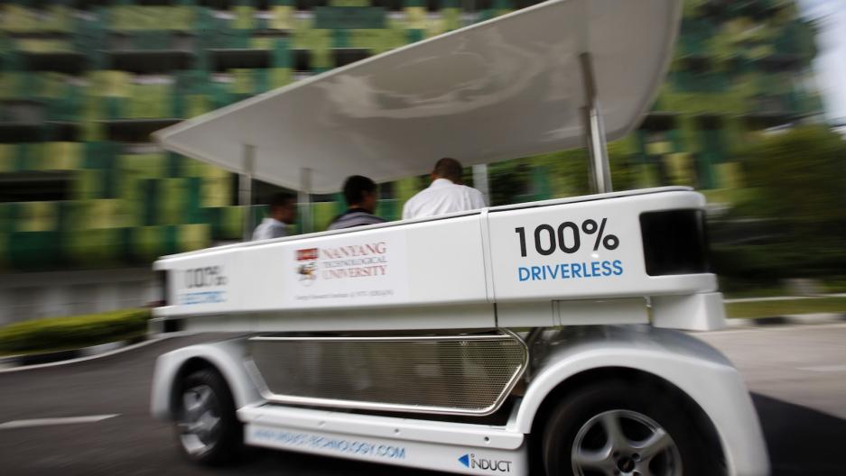 Singapore driverless car