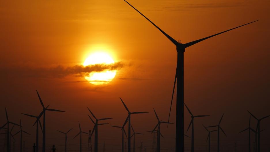 China windmills