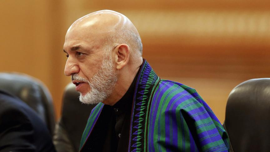 Afghan President Hamid Karzai is slated to step down next April.