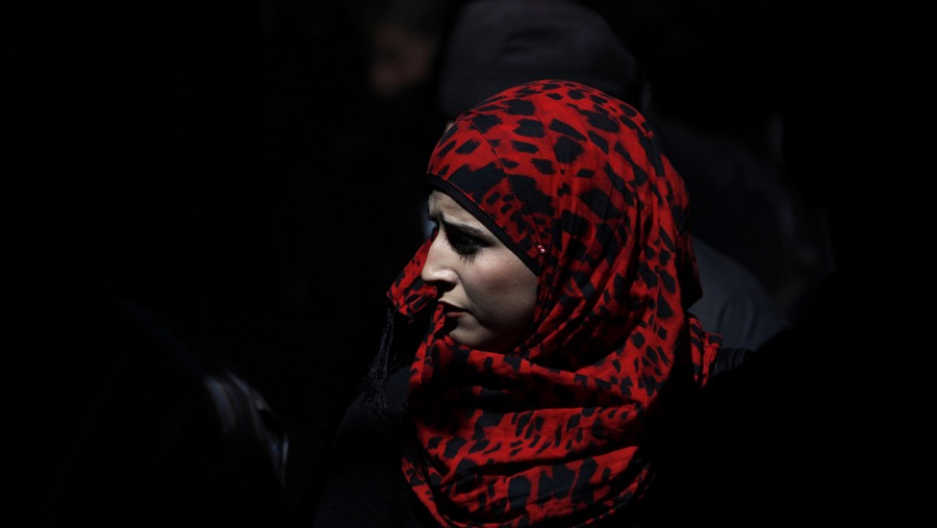 Religious headscarves, like the one this Palestinian woman is wearing, can be prohibited at the workplace in Europe, the European Court of Justice ruled.