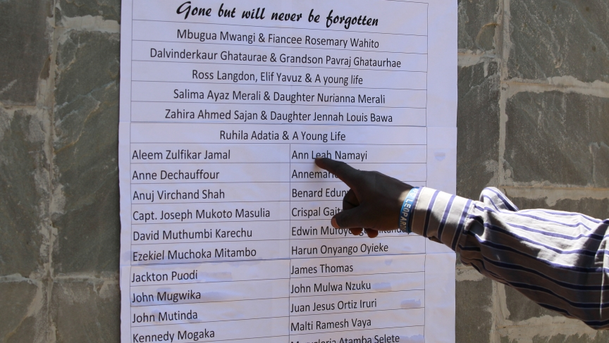 List of Westgate dead