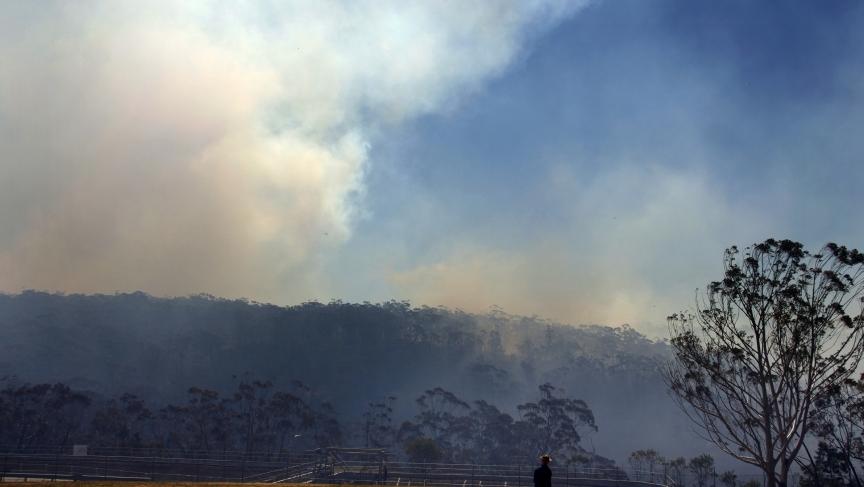 Australia smoke