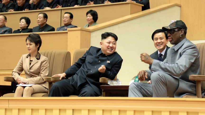 Rodman in North Korea