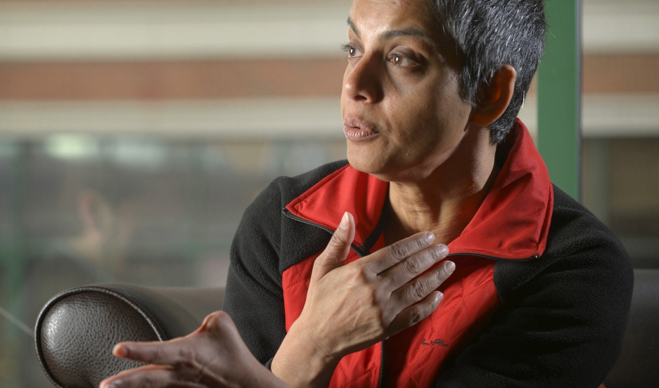 Rafida Ahmed, lost her thumb during an attack by jihadi assailants in Bangladesh. Ahmed's husband, Avijit Roy, a Bangladesh-born U.S. citizen and blogger was killed in that attack.