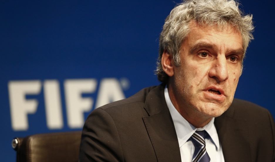 FIFA's communications director faces the spotlight after an indictment against some of the soccer organization's leaders