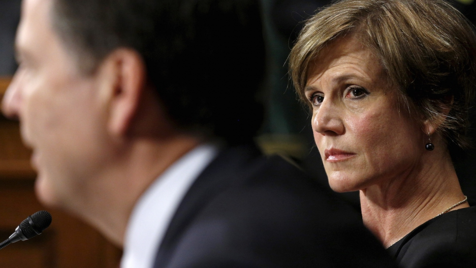 Sally Yates James Comey testify in 2015