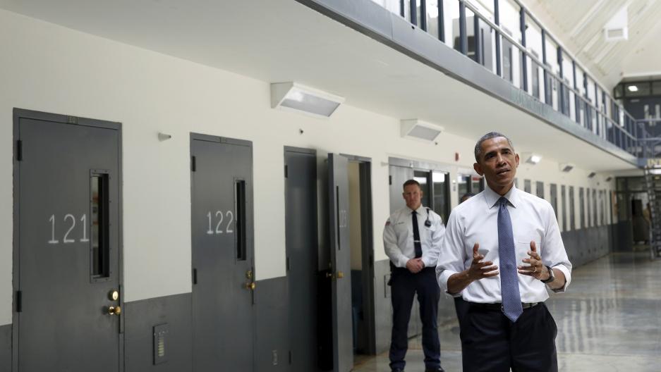 obama in prison