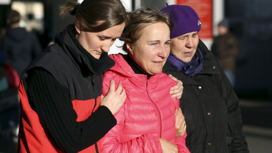 All but five of the victims in the crash were Russian citizens