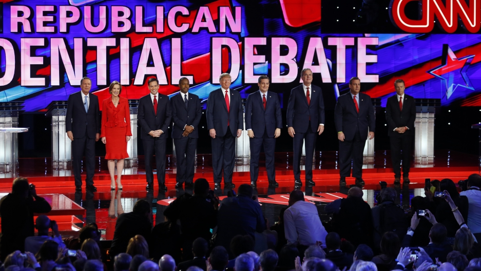Marco Rubio, Donald Trump Targeted in Republican Debate