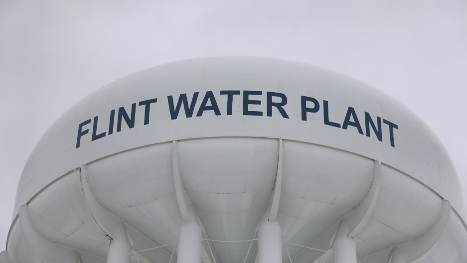 Flint's water tower