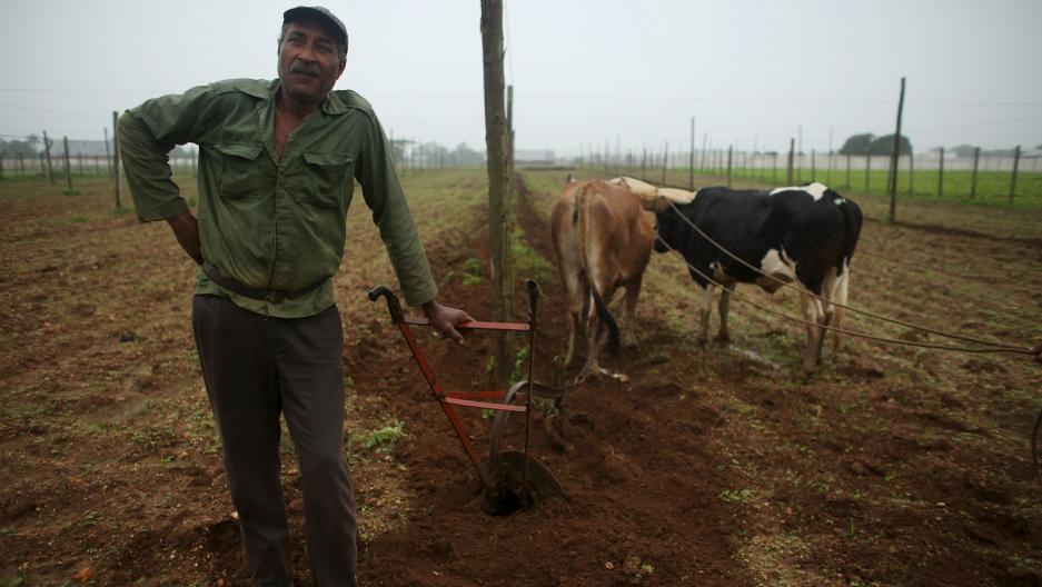 Farmer Juan Hernandez