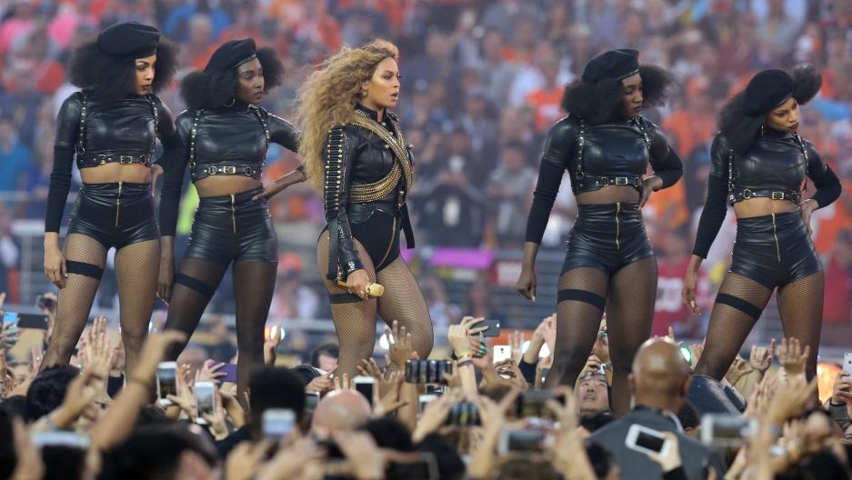 Beyonce at super bowl