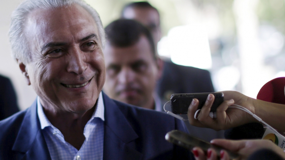 Michel Temer is Brazil's acting president. Will Brazilians trust that smile?