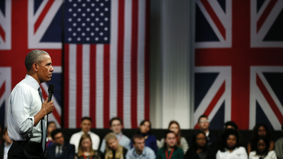 Obama in London