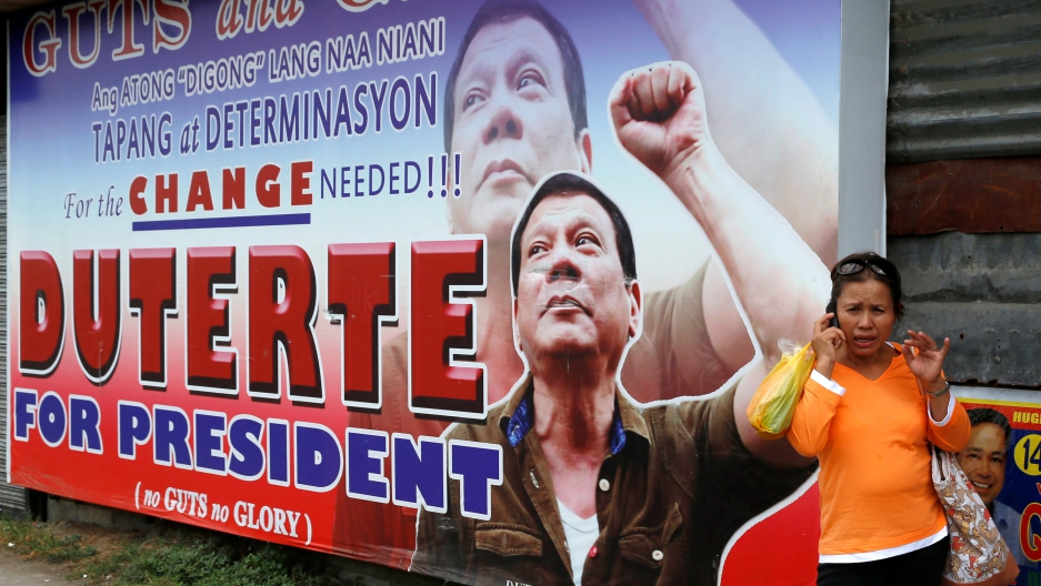 Rodrigo Duterte guts glory