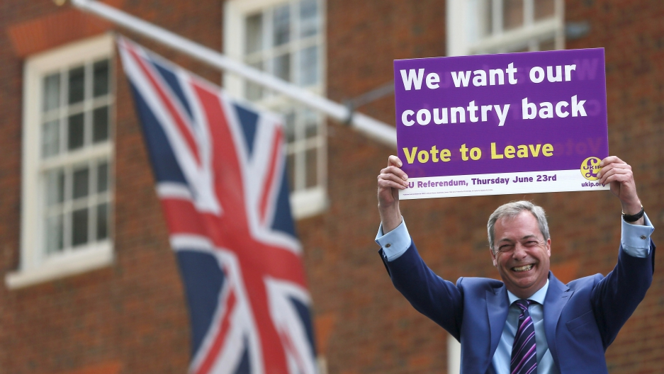Image result for brexit nigel farage