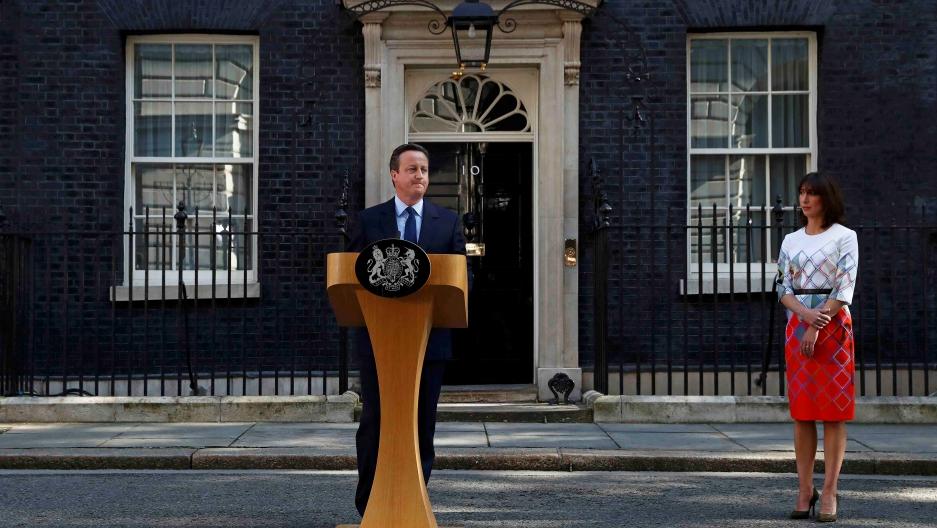David Cameron speaks after Brexit vote
